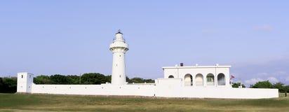 Eluanbi latarnia morska, południe Tajwan Obrazy Royalty Free