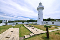 Eluanbi Lighthouse, Kenting Royalty Free Stock Images