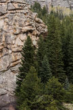 Elva mil kanjon Colorado Royaltyfria Bilder