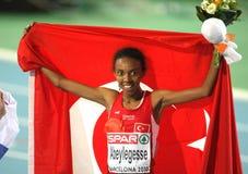 Elvan Abeylegesse de Turquia Imagens de Stock Royalty Free