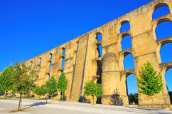 Elvas Aqueduct Stock Photography