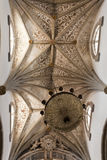 Elvas Cathedral Ceiling Royalty Free Stock Photo