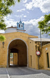Elvas Esquina Gate Royalty Free Stock Photo