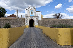 Elvas Esquina Gate Royalty Free Stock Photography