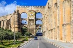 Elvas, l'Alentejo, Portugal Photographie stock