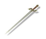 Elven刀片剑 向量例证