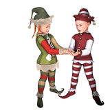 Elven children Stock Photos