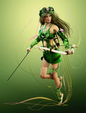 Elven Hunter Royalty Free Stock Photo