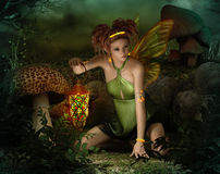 Elven Light, 3d CG Royalty Free Stock Photography