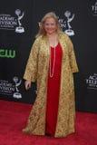 Elvera Roussel白天Emmy奖2009年 免版税库存图片