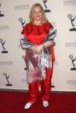 Elvera Roussel Emmy kandydatów Dzienny przyjęcie 2009 Obraz Stock