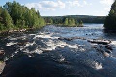 Elverum, Norway. Glomma river in Elverum, Norway Royalty Free Stock Image