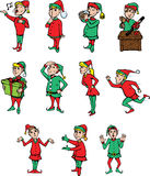 Elves being elves Stock Photography