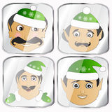 The elves a few icon  phenomenal exotic extravagant on  white background to separate easily Stock Photos