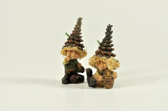 Elves and gnomes Royalty Free Stock Photo