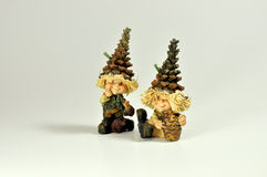 Elves and gnomes Royalty Free Stock Photos