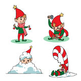 Elves Royalty Free Stock Photography