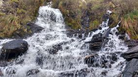 Elves waterfall. A nice waterfall called `Elves waterfall royalty free stock photography