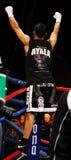 Elvin Ayala beats Eric Mitchell Stock Photo