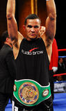 Elvin Ayala beats Eric Mitchell Royalty Free Stock Photo