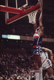 Elvin Hayes, Washington Bullets. Elvin Hayes of the Washington Bullets. (Image taken from a color slide Royalty Free Stock Photography