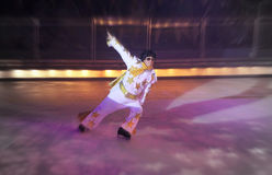 在冰的Elvis 免版税库存图片