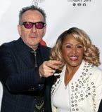 Elvis Costello et Darlene Love Photographie stock libre de droits