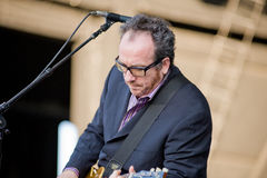 Elvis Costello and the Imposters Royalty Free Stock Photography