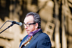 Elvis Costello and the Imposters Royalty Free Stock Photo