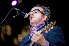Elvis Costello and the Imposters Royalty Free Stock Image