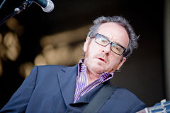 Elvis Costello and the Imposters Stock Photo