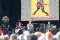 Elvis Costello & The Imposters at Central Park's SummerStage - 6/15/2017 Royalty Free Stock Photography