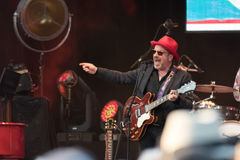 Elvis Costello & The Imposters at Central Park's SummerStage - 6/15/2017 Stock Photography