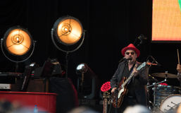 Elvis Costello & The Imposters at Central Park's SummerStage - 6/15/2017 Stock Photo