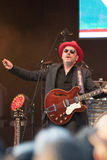 Elvis Costello & The Imposters at Central Park's SummerStage - 6/15/2017 Stock Photos
