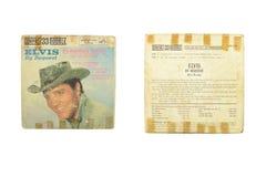 Elvis dalla stella ardente di richiesta Fotografie Stock