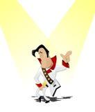 Elvis fan Stock Images