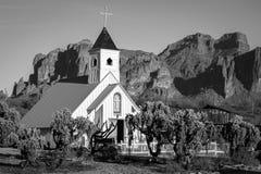 Elvis kaplica, przesąd góry w Arizona zdjęcia stock