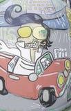 Elvis karykatury preisley zdjęcia stock