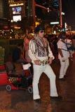 Elvis in Las Vegas Royalty Free Stock Images