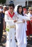 Elvis och Priscilla royaltyfri foto