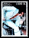 elvis opłata pocztowa presley znaczek fotografia stock