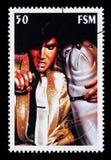 elvis opłata pocztowa presley znaczek obrazy stock