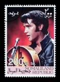 elvis opłata pocztowa presley znaczek zdjęcia royalty free