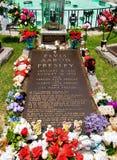 Elvis Presley's grób fotografia stock