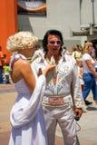 Elvis Presley和玛里琳・门罗 免版税库存照片