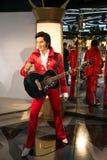 Elvis Presley в музее Grevin диаграмм воска в Праге Стоковое Изображение RF