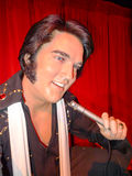 Elvis Presley. A wax statute of The King Elvis Presley at Madame Tussauds wax museum attraction in Las Vegas, Nevada Stock Photos