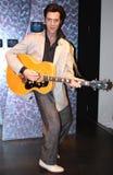 Elvis Presley alla l$signora Tussaud Immagine Stock
