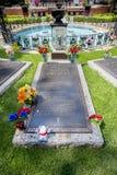 Elvis Presley Burial em Graceland Foto de Stock Royalty Free